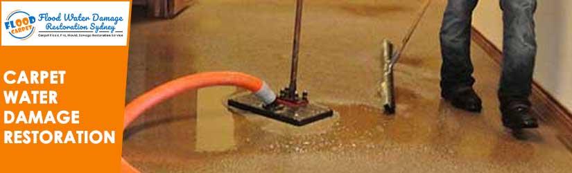 Carpet Water Damage  Restoration Sydney