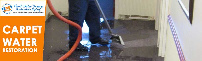 Carpet Water Restoration Sydney