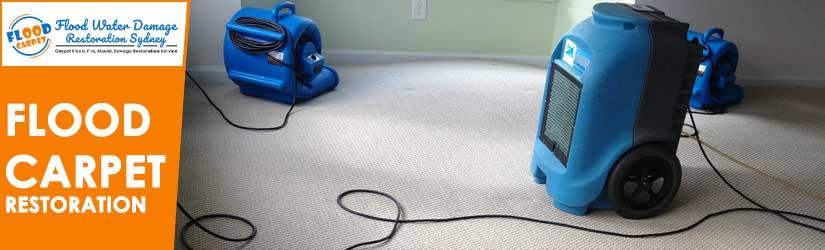 Flood Carpet Restoration Sydney